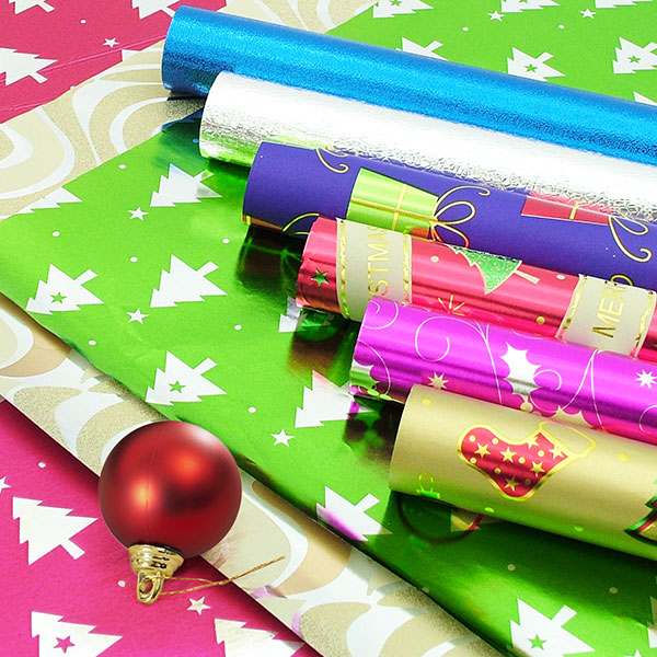 Christmas and All Occasions Gift Wrapping Paper. There are more types of gift wrapping paper for selection
