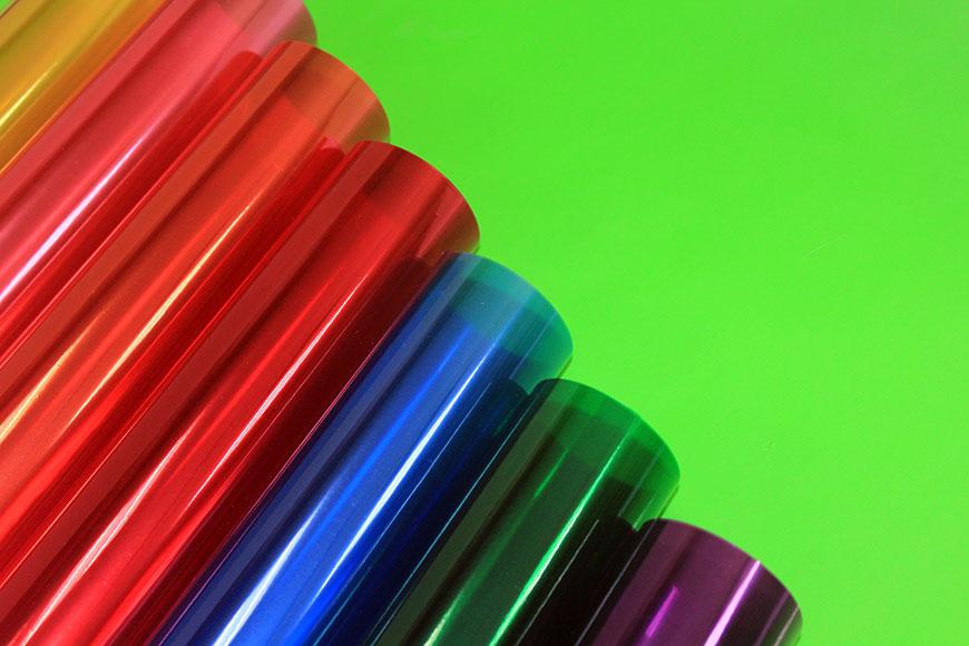 Пленка разноцветная для поделок 14