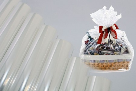 Clear Cellophane BOPP Film Gift Wrapping Paper - Cellophane BOPP Film wrap plain clear no printing rapping in Roll and sheet for gift wrapping and flower packing