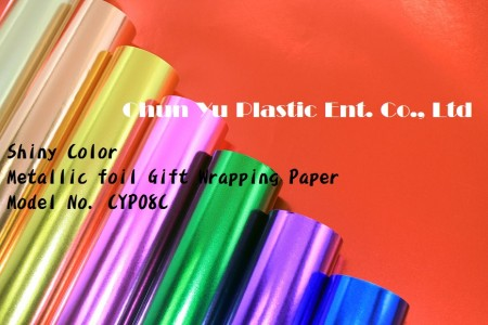 Color Printed Metallized Gift Wrapping Paper - Color Printed Metallized Gift Wrapping Paper in Roll & Sheet