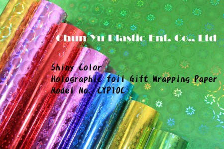Color Printed Holographic Gift Wrapping Paper - Color Printed Holographic Gift Wrapping Paper in Roll & Sheet